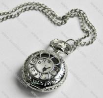 Silver Hollow Pocket Watch -PW000197