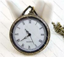 Vintage Simple Roman No. Pocket Watch Chain Wholesale - PW000056