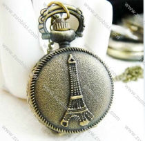 Vintage Iron Tower Pocket Watch Chain - PW000047
