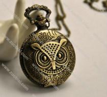 Big Night Owl Pocket Watch -PW000234