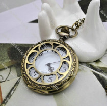 Vintage Sunflower Pocket Watch Chain - PW000048