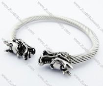 Stainless Steel dragon Bangle - JB170086