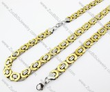 Stainless Steel jewelry set - JS380034
