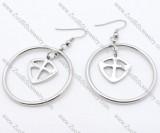 Shield Stainless Steel earring - JE050139