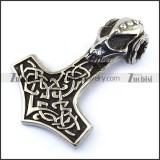 Thor Hammer Pendant p003471