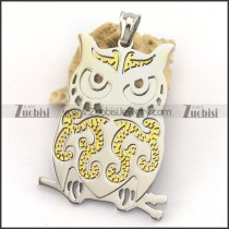 Owl Stainless Steel Pendant p003250