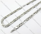 Stainless Steel jewelry set - JS380031