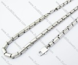 Stainless Steel jewelry set -JS100039