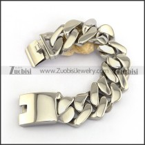 Heavy Weight Casting Heart Shaped Bracelets for Mens b004339