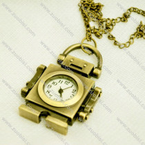 Small Robot Pocket Watch call android -PW000328