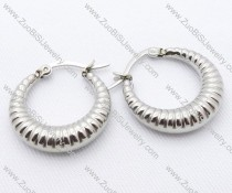 Hollow Heart Stainless Steel earring - JE050074