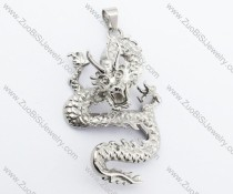 China Stainless Steel Dragon Pendant-JP330031