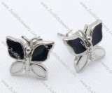 Butterfly Stainless Steel earring - JE050011