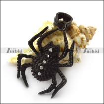 Black Spider Pendant for Wholesale p004935