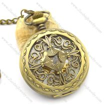 big Chinese knot mechanical pocket watch pw000410
