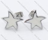 Star Stainless Steel earring - JE050012