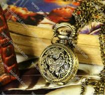 Vintage Butterfly Pocket Watch Chain - PW000050