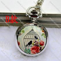 Fashion Rhidoum Bird Pocket Watch Chain - PW000049-2