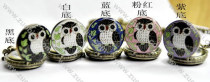 Modern Colorful Night Owl Pocket Watches for Ladies -PW000107