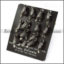 Small Dragon Steel Earring e001249