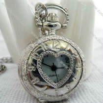 Sweet Love Heart Pocket Watch -PW000316