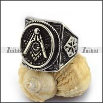 Round Face Masonic Ring r003614