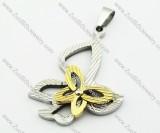 Stainless Steel Butterfly Pendant -JP140117