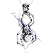 spider skull pendant JP350028