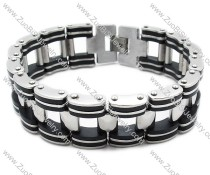 Stainless Steel Single car chain Bracelet -JB140008