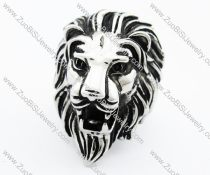 Stainless Steel Lion Ring -JR010195