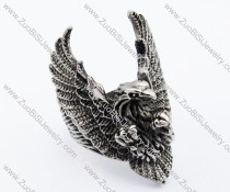Stainless Steel The eagle Ring -JR330055