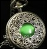 Antique Mechanical Pocket Watch with chain -pw000404