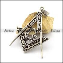 Vintage Masonic Pendant p003024