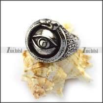 Evil Eye Stainless Steel Ring r004638