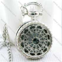 Silver Spider Web Pocket Watch Chain - PW000023