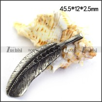 Casting Feather Charm p003514