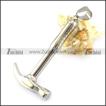 Stainless Steel Hammer Pendant p006116