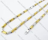 Stainless Steel jewelry set -JS100040