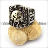 Horrible Demon Skull Ring r003672