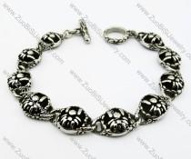 Stainless Steel Casting Spider Bracelet - JB200098