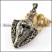 Rattle Snake Pendant p005833