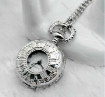 Silver Girl Pocket Watch Chain -PW000257