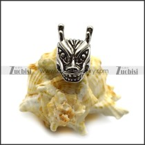 Steel Dragon Head Bead a000529