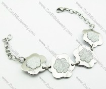 Stainless Steel Flower Bracelet -JB140040