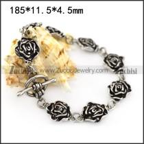 Casting Rose Flower Bracelet b006294