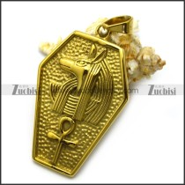 Gold Plated Egypte Pendant p006731