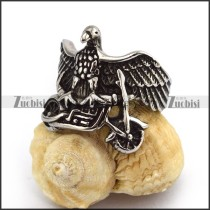 Eagle Motorcycle Bike Ring for Riders r003569