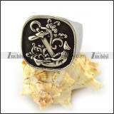 Stainless Steel Anchor Ring r003939