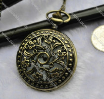 Old Style Flower Pocket Watch -PW000341