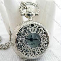 Shiny Silver Pocket Watch Chain - PW000037